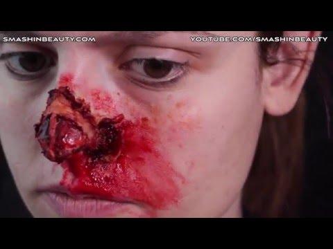 Nose SFX Makeup Tutorial Halloween 2019 SMASHINBEAUTY