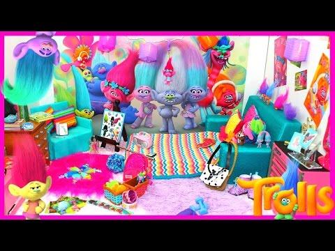 Trolls Bedroom
