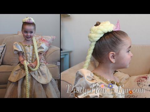 HALLOWEEN COSTUME IDEAS: DIY RAPUNZEL HAIR