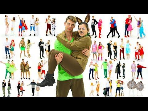 30 Last-Minute COUPLE Halloween Costume Ideas! DIY Costumes! | CloeCouture