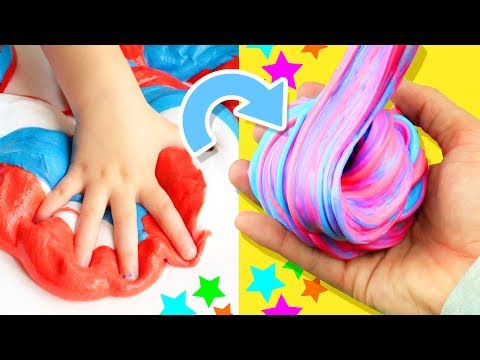 COOLEST 4th of July Slime! ★ | DIY Fluffy Slime Tutorial How To Make the Best Slime