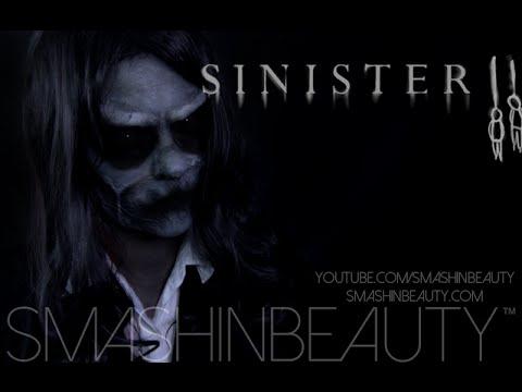 Sinister Bughuul Halloween makeup tutorial 2019 SMASHINBEAUTY