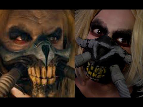 EASY Immortan Joe Mask Mad Max Halloween Makeup Tutorial 2019 SMASHINBEAUTY