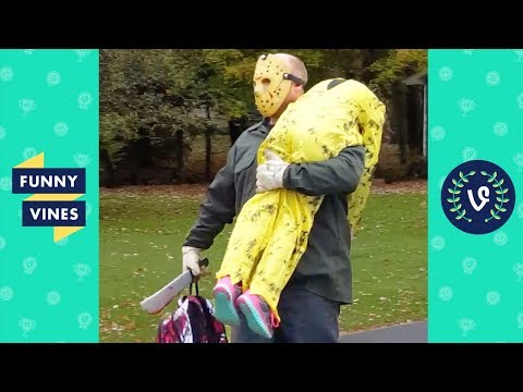 TRY NOT TO LAUGH - Funny HALLOWEEN VIDEOS & SCARE CAM