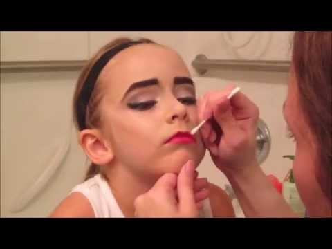 Kids Maleficent Makeup Tutorial $20 Makeup Challenge Halloween Costume