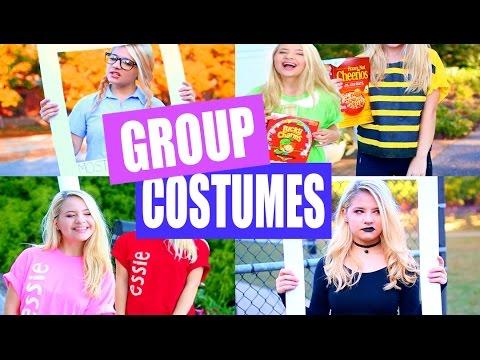 DIY Group Halloween Costumes!
