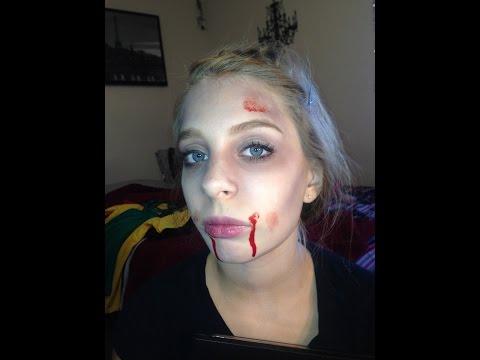 How to look Dead for Halloween (Makeup Tutorial)