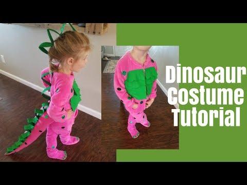Dinosaur Halloween Costume | DIY Dinosaur Costume