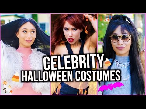 5 Celebrity Halloween Costume Ideas! Ariana, Taylor, Kim and Kylie! | MyLifeAsEva