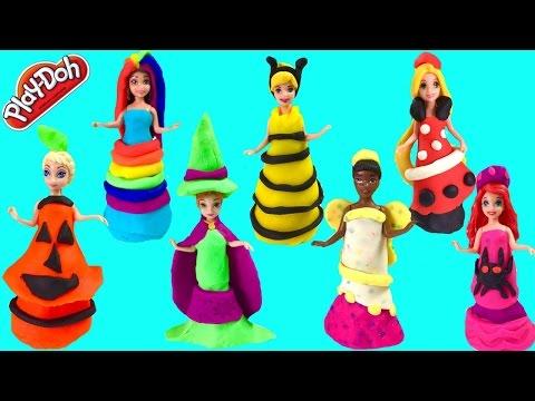 Disney Princesses Magic Clip Wear DIY Halloween Costumes
