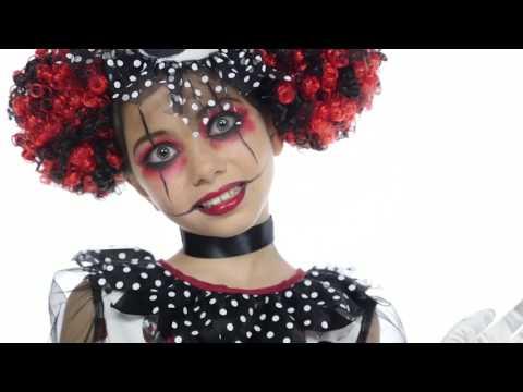 Creepy Clown Girl Costume