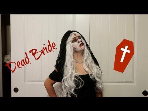 Dead Brides Makeup Halloween Tutorial