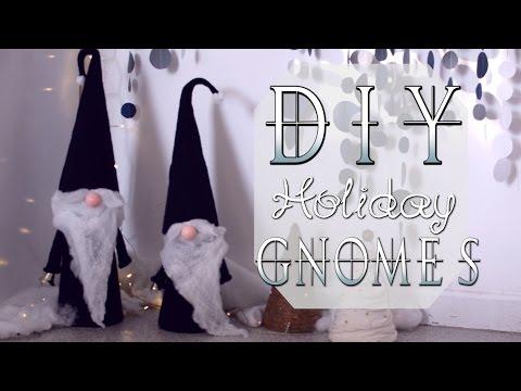 diy nordic holiday gnomes