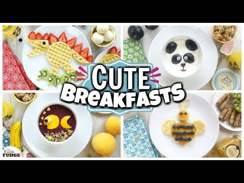 CUTE Breakfast Ideas for SUMMER ❤️ Quick and EASY!!