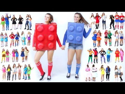 30 Last-Minute BEST FRIEND Halloween Costume Ideas! | CloeCouture