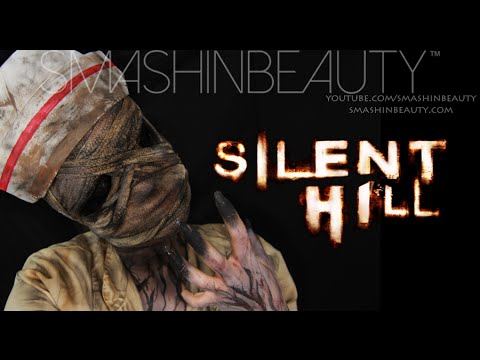 EASY Silent Hill Bubble Head Nurse Halloween Makeup Tutorial 2019 SMASHINBEAUTY