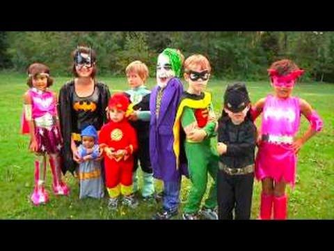 Halloween Costumes for Kids Video | Superheros Batman 2020