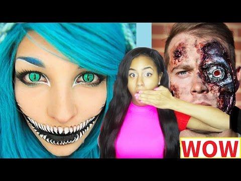 25 Creepy Halloween Makeup Ideas - Last-Minute DIY Halloween Costume Ideas