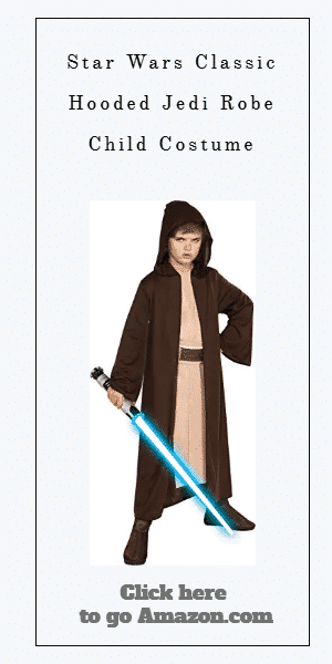 Star Wars Classic Hooded Jedi Robe Child