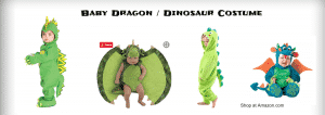 Baby Dragon / Dinosaur Costume