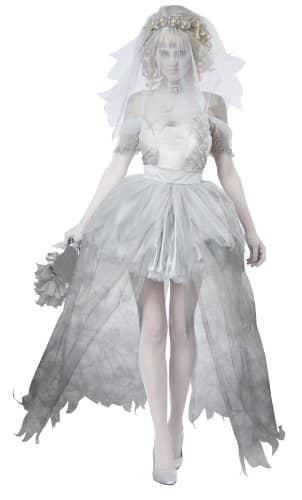 California Costumes Women's Haunting Beauty Ghost Spirit Costume, Gray, Medium