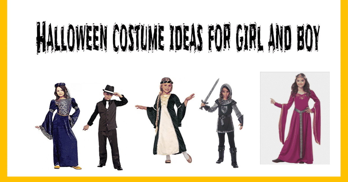 Halloween costume ideas for girl and boy