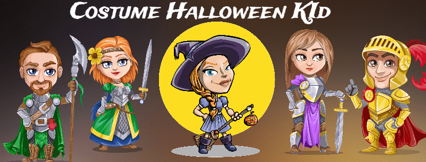 costume halloween kid